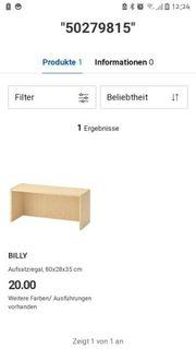 IKEA BILLY AUFSATZREGAL