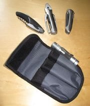 Multitoolset 4-teilig mit Tasche Zange