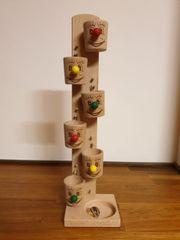 Murmelspiel aus Holz