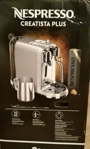 Nespresso Creatista Plus Kaffeemaschine