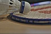 Badminton Spieler Spielerin
