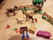 Playmobil Pferdekoppel mit Zubehör