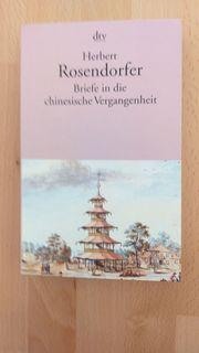 Herbert Rosendorfer Briefe in die