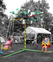 Kinderkettenkarussell mobil Karussel für Kinder