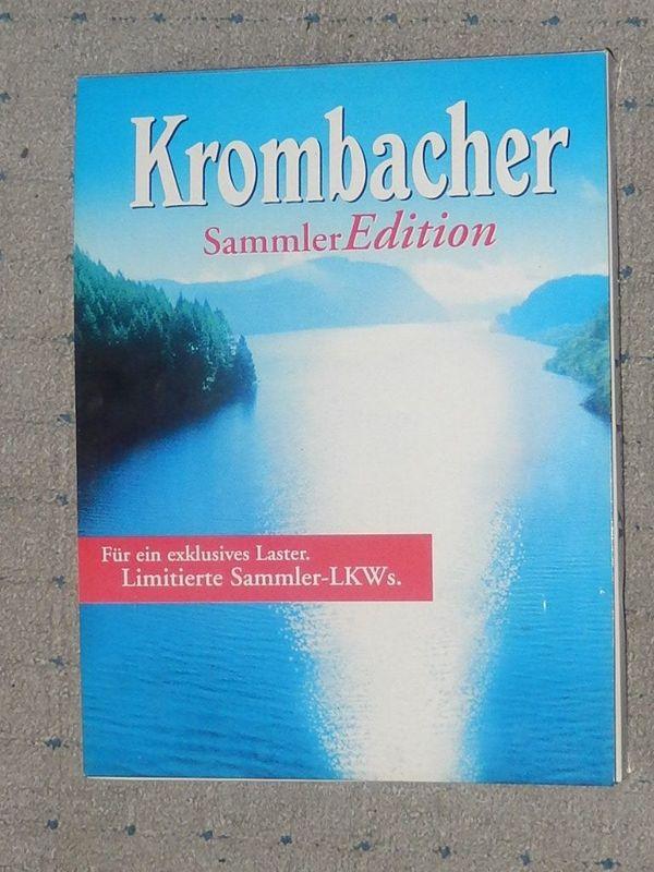Krombacher Sammler Edition