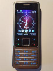 Edles Nokia 6300 SILBER EDITION