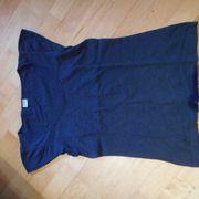 Shirt Esprit kurzarm blau angeschnittener