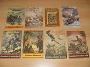 8 Kriegshefte - Kriegsbücher 2 Weltkrieg
