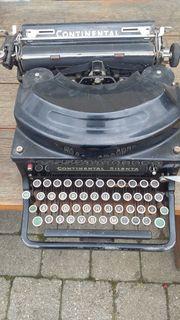 Verkaufe alte Continental Schreibmaschine