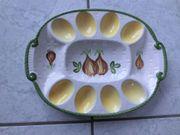 Eierteller Eierplatte Servierplatte Eier für