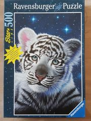 Ravensburger Puzzle Tiger