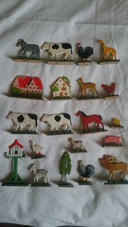 Verkaufe diese Holzfiguren