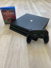PS4 Pro 1TB Schwarz Inkl