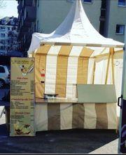 Mittelalter Gastro Zelt Verkaufsstand Imbiss