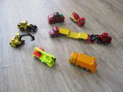 8 verschiedene SIKU Baustellenfahrzeuge