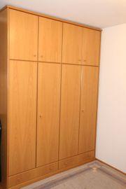 Kleiderschrank Eiche hell Echtholzfurnier