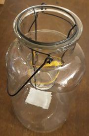 Großes Teelichtglas Teelichtlampe Kerzenlampe