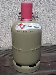 Gasflasche grau 5 kg