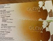GLOW Wien original GOLD Tickets