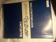 WERKSTATTHANDBUCH - SUZUKI GSXR - R 1100W