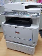 Laserdrucker Multifunktionsdrucker OKI MB472dnw gebraucht
