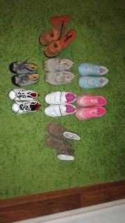 Viele Kinderschuhe Sneakers Turnschuhe Mädchen