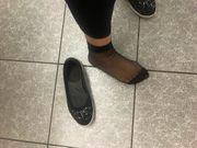 getragene gut riechende Schuhe