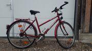 Kettler Alu-Damenfahrrad rot sehr hochwertig