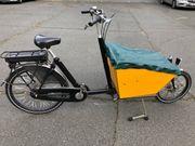E-Bike Lastenfahrrad Lastenrad Original bakfiets