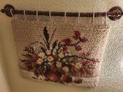 Wandteppich Teppich Blumen Junghans Wolle