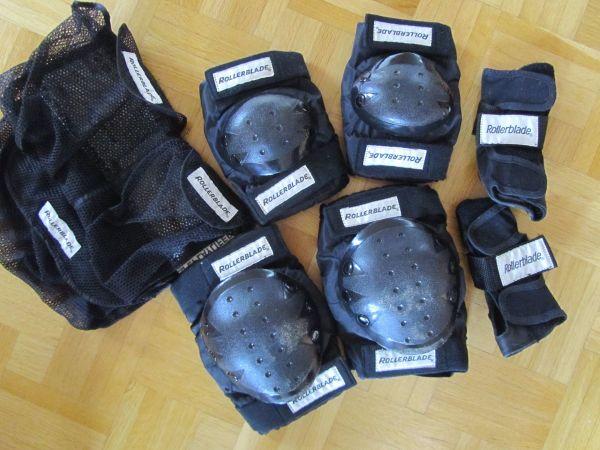 2 x Knieschützer Armschützer-Set verschiedene