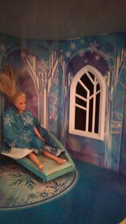 XXL Barbie Spielhaus Frozen Schnäppchen