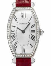 Cartier Montre Tonneau 2711 Weißgold