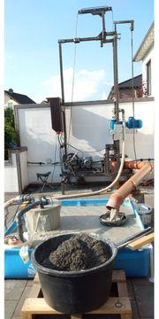 Brunnenbohrgerät mit 34 Meter Bohrgestänge