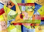 Kaleidoskop Kunst Acrylbild Acryl Gemälde