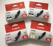 originale Druckerpatronen Canon Pixma 551
