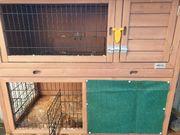 neuwertiger Hasenstall Kaninchenstall
