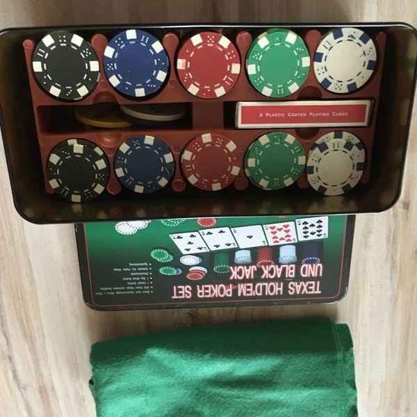 Pokerset neu