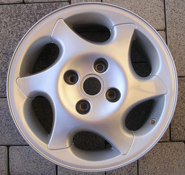 1 Alufelge Peugeot Opale 15-Zoll