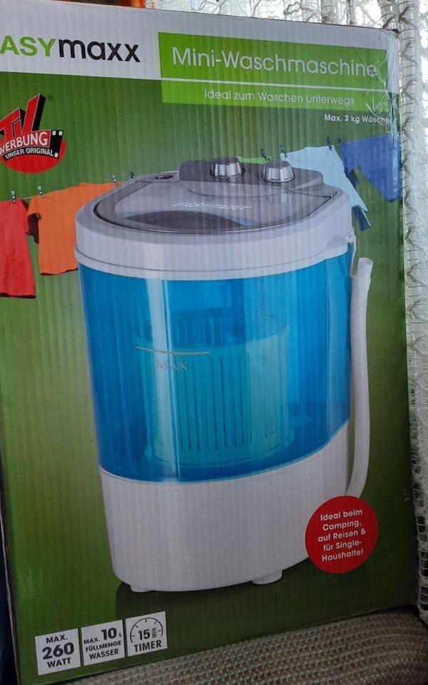 EASYmaxx Mini-Waschmaschine originalverpackt
