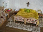 Bodo Hennig-Möbel Schlafen Puppenstube Puppenhaus-Puppenküche