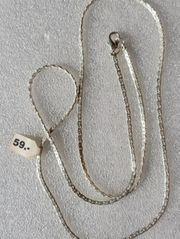 Halskette versilbert Länge geschlossen ca