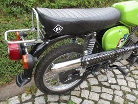 Simson S51 ENDURO 4Gang 60Km: Kleinanzeigen aus Roßleben - Rubrik Mofas, 50er Kleinkrafträder