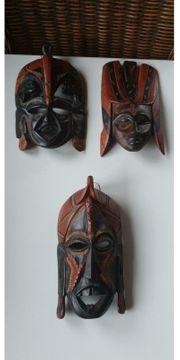 Afrikanische Masken aus Kenia