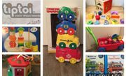 Spielzeug Fisher Price Stapelautos Sortierbox