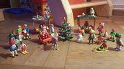 Playmobil Weihnachtsstände mit viel Zubehör -