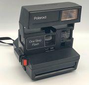 Polaroid One Step Flash Sofortbildkamera -