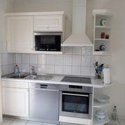 Einbauküche Landhausstil Häcker weiß Siemensgeräte
