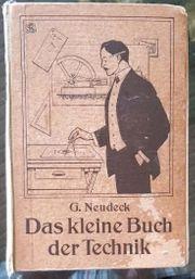 3 Antiquarische Bücher von 1900