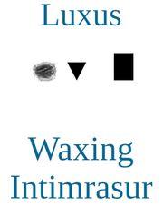 Waxing Enthaarung Intimrasur Frisur Bikinizone